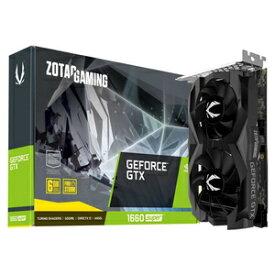 ZT-T16620F-10L ZOTAC PCI-Express 3.0 x16対応 グラフィックスボードZOTAC GAMING GeForce GTX 1660 SUPER Twin Fan