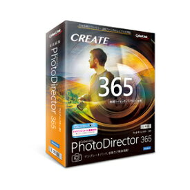PHOTODIR365/1Y2020WD サイバーリンク PhotoDirector365 1年版(2020年版) ※パッケージ版