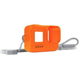 AJSST-004 GoPro GoPro HERO8用スリーブ+ランヤード(ハイパーオレンジ)