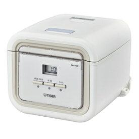 JAJ-G550WN タイガー マイコン炊飯ジャー(3合炊き) ナチュラルホワイト TIGER 炊きたて tacook(タクック) [JAJG550WN]