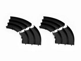 ミニ四駆 ジャパンカップ ジュニアサーキット カーブ(黒) 4枚セット【ミニ四駆特別企画】【95522】 タミヤ