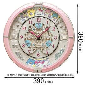 CQ222P セイコークロック 掛け時計【サンリオキャラクターズ】 サンリオキャラクターズからくり時計 Sanrio characters [CQ222P]【返品種別A】