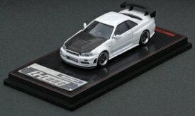1/64 Nismo R34 GT-R Z-tune White【IG1868】 ignitionモデル