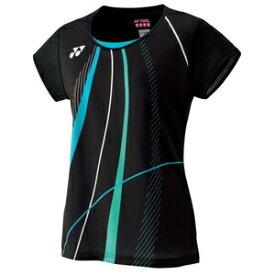 YO-20473-007-XO ヨネックス レディース ゲームシャツ(ブラック・サイズ:XO) YONEX WOMEN'S GAME SHIRTS
