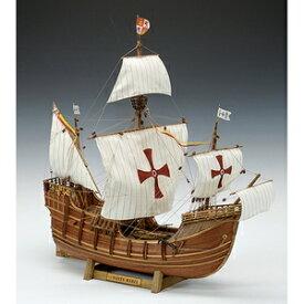1/50 木製帆船模型 サンタマリア 木製組立キット ウッディジョー