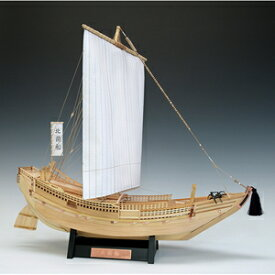 1/72 木製帆船模型 北前船 木製組立キット ウッディジョー