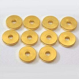 WA1 ヤマモトオンキョウ 真鍮製大型ワッシャー( M3M2.6用/10個セット) 山本音響工芸