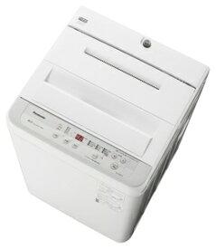 (標準設置料込)NA-F60B13-S パナソニック 6.0kg 全自動洗濯機 シルバー Panasonic [NAF60B13S]
