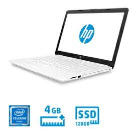 5EF49PA-AAAA HP(エイチピー) 15.6型ノートパソコン HP Laptop 15-da0 ピュアホワイト