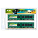 SP016GBLTU160N22 シリコンパワー PC3-12800(DDR3-1600)240pin DDR3 SDRAM DIMM 16GB(8GB×2枚)