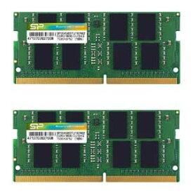 SP016GBSFU240B22 シリコンパワー PC4-19200 (DDR4-2400)260pin DDR4 SODIMM 16GB(8GB×2枚)