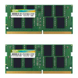 SP016GBSFU213B22 シリコンパワー PC4-17000(DDR4-2133)260pin DDR4 SDRAM S.O.DIMM 16GB(8GB×2枚)