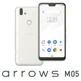 ASMC01002(M05-W) 富士通 arrows M05(ホワイト)- SIMフリースマートフォン [5.8インチ / メモリ 3GB / ストレージ 32GB]