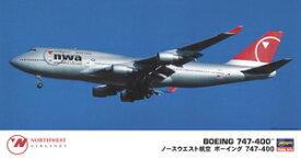 1/200 ノースウエスト航空 ボーイング 747-400【10834】 ハセガワ