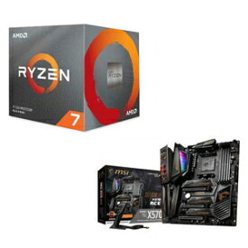100-25BOX/X570ATX-M AMD AMD Ryzen7 3800X + MSI MEG X570 ACE【お買得限定パック】