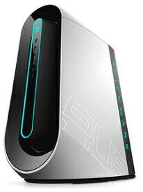 DA90VR-9WLW DELL(デル) ALIENWARE AURORA R9 ルナライト(シルバーホワイト) LEDライト付 ゲーミングデスクトップ [Core i7-9700K / 16GB / 512GB(SSD)+ 2TB HDD(SATA)]