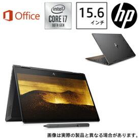 8WD99PA-AAAA HP(エイチピー) 15.6型ノートパソコン HP ENVY x360 15-dr1016TU-OHB ナイトフォールブラック & ナチュラルウォールナット (i7/16GB/512GB/Optane/H&B 2019)