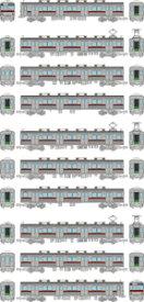 [鉄道模型]トミーテック (N) 鉄道コレクション 東武鉄道9000系9101編成 現行仕様 10両セット