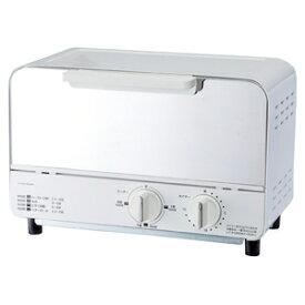 OT-U901-WH ドウシシャ オーブントースター ホワイト DOSHISHA PIERIA(ピエリア)ミラーガラストースター [OTU901WH]