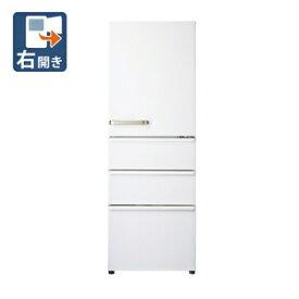 AQR-36J-W アクア 355L 4ドア冷蔵庫(ウォームホワイト)【右開き】 AQUA [AQR36JW]