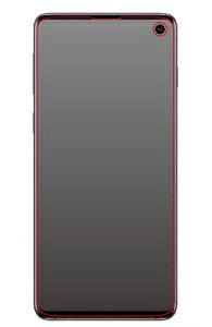 RT-GS10F/WZH レイアウト Galaxy S10(SC-03L/SCV41)用 液晶保護フィルム フルカバー TPU 反射防止 衝撃吸収