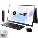 PC-HA770RAB NEC LAVIE Home All-in-one HA770/RAB ファインブラック - 23.8型デスクトップパソコン [Core i7 / メモ…
