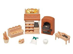 シルバニアファミリー こんがりオーブン!はじめてのパン屋さんセット【ミ-88】 シルバニアファミリー エポック社