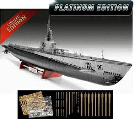 1/72 US ネイビー ガトー級潜水艦(プレミアムエディション)【05168】 ドイツレベル