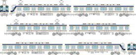 [鉄道模型]トミーテック (N) 鉄道コレクション 南海電気鉄道1000系 6両セット