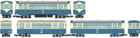 [鉄道模型]トミーテック (HOナロー) 鉄道コレクション ナローゲージ80 猫屋線 キハ17・ホハフ123・ホハフ110形新塗装 3両セット