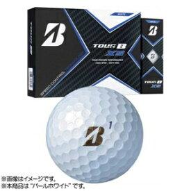 20-TOUR-B-XS-PWH ブリヂストンゴルフ ゴルフボール TOUR B XS 1ダース 12個入り(パールホワイト) BRIDGESTONE GOLF TOUR B XS S0GXJ