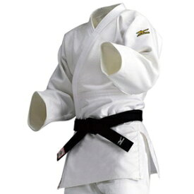 22JM5A18012B ミズノ 選手用 柔道衣(新規格)上衣のみ(ホワイト・サイズ:B体・2B号) 全柔連・IJF新規格基準モデル