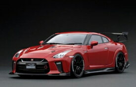 1/18 日産 TOP SECRET GT-R (R35) Red【IG1536】 ignitionモデル