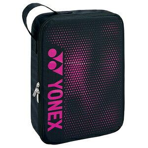 YO-BAG2096L181 ヨネックス ランドリーポーチ L(ブラック/ピンク) YONEX SUPPORT series