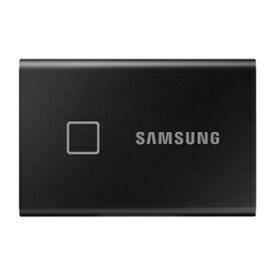 MU-PC1T0K/IT サムスン USB3.2 Gen.2対応 ポータブルSSD 1.0TB(ブラック)【指紋認証機能】 Portable SSD T7 Touchシリーズ