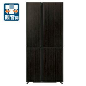 (標準設置料込)冷蔵庫 アクア 大型 AQR-TZ51J-T アクア 512L 4ドア冷蔵庫(ダークウッドブラウン) AQUA TZシリーズ [AQRTZ51JT]