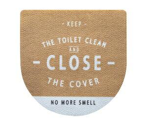MA-2304 ベストコ トイレのフタに貼る消臭シート(28×28cm)ルール ナチュラル [MA2304]
