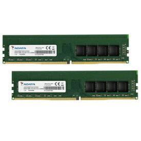 AD4U266638G19-D ADATA PC4-21300 (DDR4-2666)288pin DDR4 DIMM 16GB(8GB×2枚)