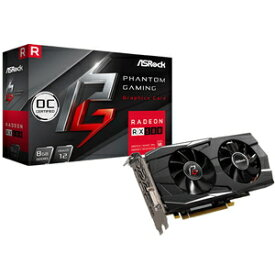 Phantom Gaming D Radeon RX580 8G OC ASRock PCI Express 3.0x16対応 グラフィックスボードASRock Phantom Gaming D Radeon RX580 8G OC