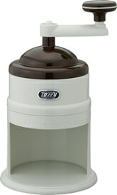 K-IS6-AW ラドンナ 手動かき氷器 アッシュホワイト LADONNA Toffy [KIS6AW]