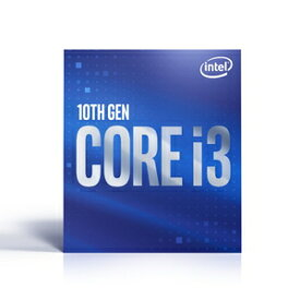 BX8070110100 インテル 【国内正規品】Intel CPU Core i3 10100(Commet Lake-S) 第10世代 インテル CPU