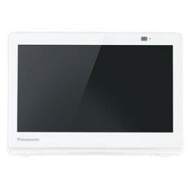 テレビ 10型 UN-10CE10-W パナソニック 10型ポータブル地上・BS・110度CSデジタル液晶テレビ(ホワイト) (別売USB HDD録画対応)Panasonic プライベートビエラ
