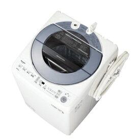 (標準設置料込)洗濯機 8kg シャ−プ ES-GV8E-S シャープ 8.0kg 全自動洗濯機 シルバー系 SHARP [ESGV8ES]