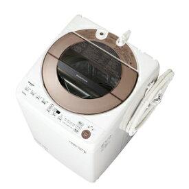 (標準設置料込)洗濯機 10kg シャ−プ ES-GV10E-T シャープ 10.0kg 全自動洗濯機 ブラウン系 SHARP [ESGV10ET]