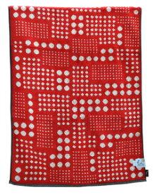 FU15085/R 日繊商工 ベリードッツ バスタオル(レッド) fufu mono form [FU15085R]
