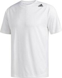 ADJ-FVY93-DW9826-J/M アディダス フリーリフト スポーツ フィット 3ストライプス Tシャツ(ホワイト・J/M) adidas FREELIFT SPORT FITTED 3-STRIPES TEE