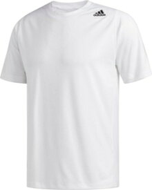 ADJ-FVY93-DW9826-J/L アディダス フリーリフト スポーツ フィット 3ストライプス Tシャツ(ホワイト・J/L) adidas FREELIFT SPORT FITTED 3-STRIPES TEE
