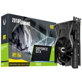 ZT-T16520F-10L ZOTAC PCI-Express 3.0 x16対応 グラフィックスボードZOTAC GAMING GeForce GTX 1650 OC GDDR6