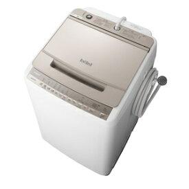(標準設置料込)洗濯機 8kg 日立 BW-V80F-N 日立 8.0kg 全自動洗濯機 シャンパン HITACHI ビートウォッシュ [BWV80FN]