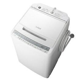 (標準設置料込)洗濯機 8kg 日立 BW-V80F-W 日立 8.0kg 全自動洗濯機 ホワイト HITACHI ビートウォッシュ [BWV80FW]